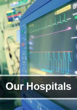 Read more about hospitals in India
